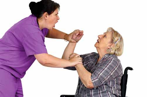 Signos comunes de los abusos a mayores