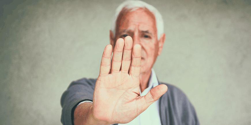 Abandono a personas mayores
