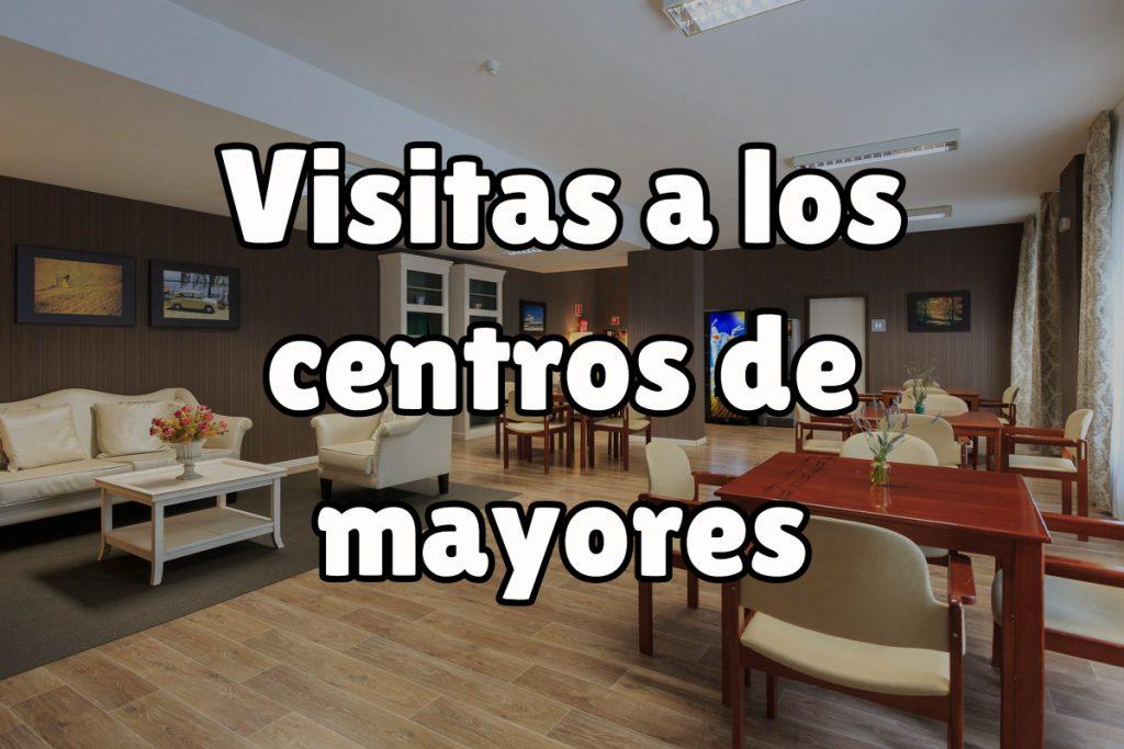 Opciones para visitar los centros de mayores
